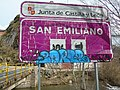 San Emiliano road sign.000 - San Emiliano (Leon).jpg