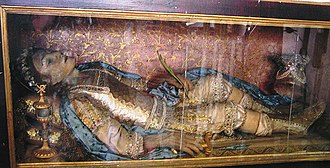 Vincenzo, Martyr of Craco - The relic of San Vincenzo in Craco, Italy