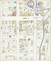 Sanborn Fire Insurance Map from Bloomfield, Knox County, Nebraska. LOC sanborn05152 001.jpg