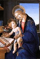 Sandro Botticelli: Madonna of the Book
