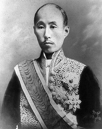 Sanjō Sanetomi - Prince Sanetomi Sanjo,c. late 1800s