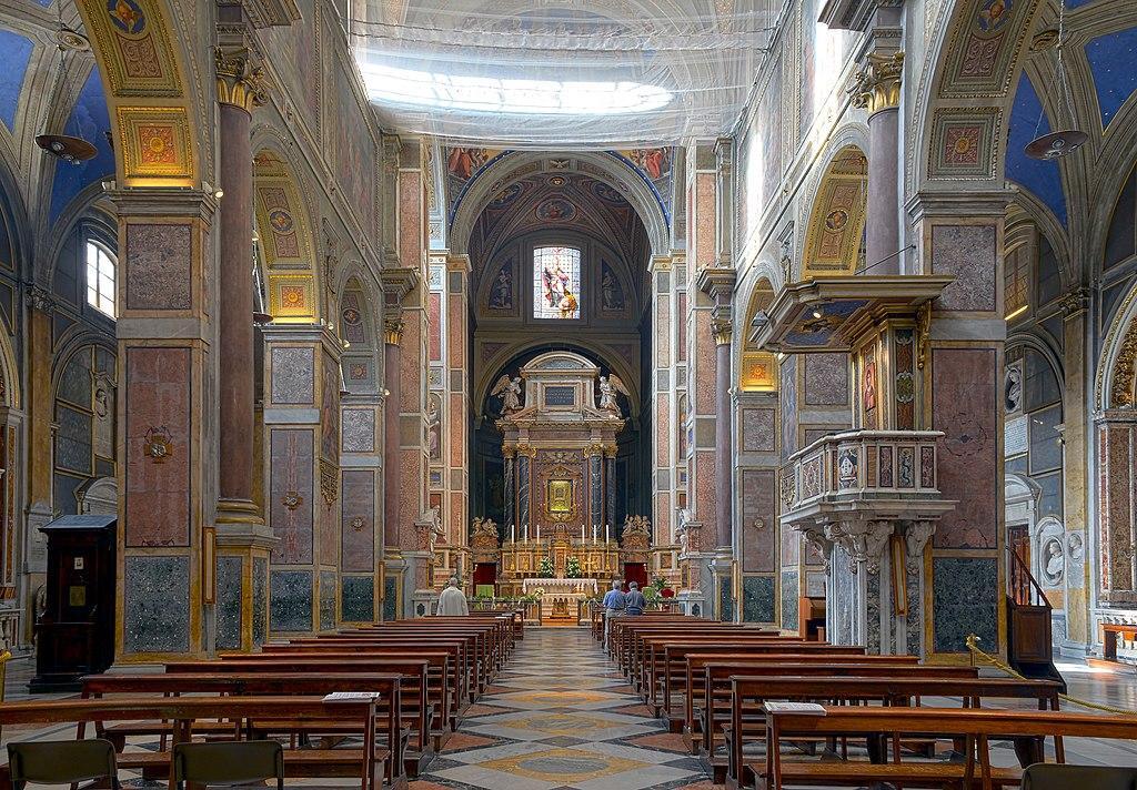 Sant'Agostino (Rome) - Interior HDR.jpg