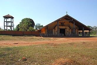José Miguel de Velasco Province - Mission church in Santa Ana de Velasco,   Jesuit Missions of Chiquitos