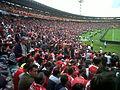 Santa Fe vs Once Caldas - Semifinales Torneo Finalización 2011.jpg