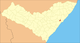 Santa Luzia do Norte – Mappa