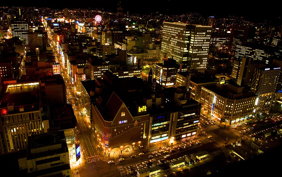 Sapporo at Night (HOKKAIDO-JAPAN) (2374185648)