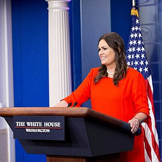 Sarah Sanders American campaign manager and political adviser