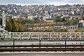 Sarajevo Tram-Line Miljacka-Bridge 2011-10-20.jpg