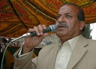 Mehtab Abbasi (politician) - Image: Sardar Mehtab Ahmed Khan