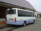 Saroma town bus Ki200K 0369rear.JPG