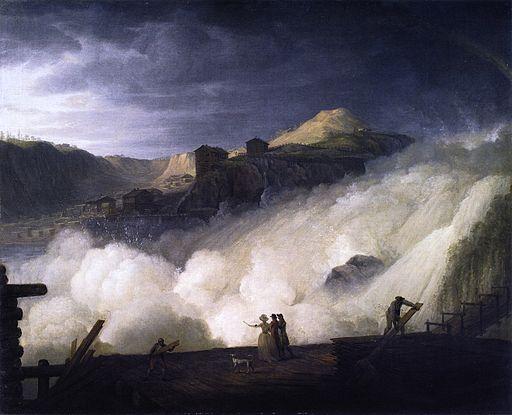 Sarpsfossen (1789) von Erik Pauelsen