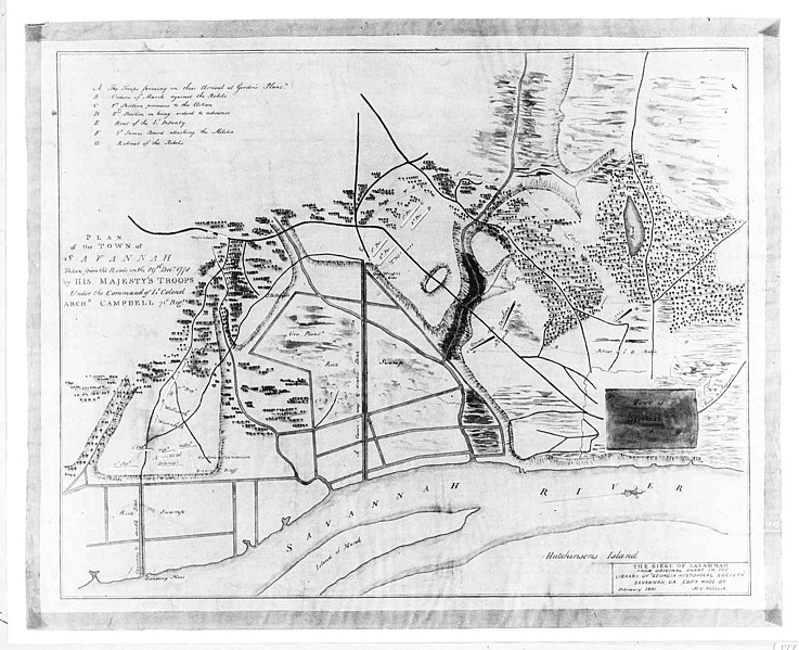 Capture of Savannah 1778