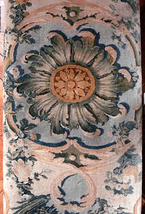 Savonnerie manufactory - Savonnerie tapisserie, 18th century. Versailles.