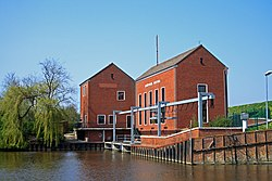 Pumping station in Greetsiel