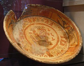 Macal River - Original Mayan bowl discovered in the Macal River lower watershed.