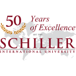 Schiller International University - Logo - 50 Years Anniversary (square).png