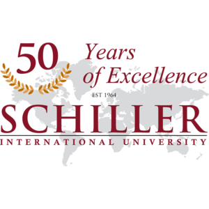 Schiller International University - Image: Schiller International University Logo 50 Years Anniversary (square)