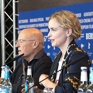 Volker Schlöndorff - Volker Schlöndorff and Nina Hoss at the 2017 Berlin International Film Festival
