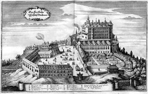 Schloß Ambras (Merian)