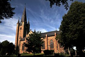 Image illustrative de l'article Cathédrale de Mariestad