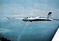 Schweizer X-26A glider of the Naval Test Pilot School in flight c1978.jpg