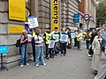 Science Museum industrial action in June 2008.jpg