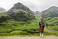 Scottish Bagpiper at Glen Coe, Scotland - Diliff.jpg