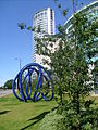 Sculpture on STrand in Liverpool August 30 2010.jpg