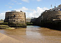 Sea locks on Bude Canal.jpg
