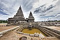 Seashore Temple at Mahabalipuram during Mansoon Time.jpg
