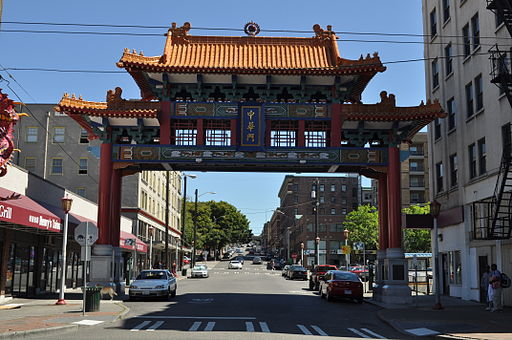 Seattle - Chinatown gate 11