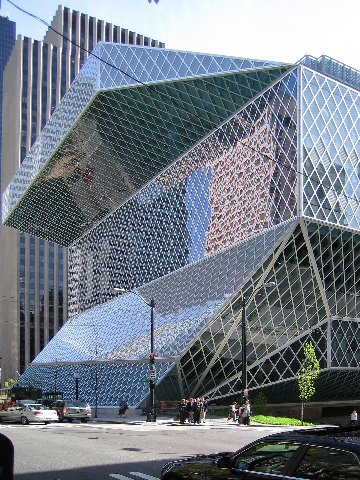 Seattle central library wikipedia - Architecturen volumes ...