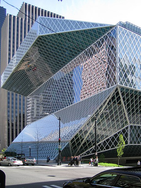 File:Seattle Central Library, Seattle, Washington - 20060418.jpg