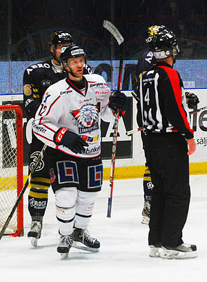 Sebastian Karlsson (ice hockey) - Image: Sebastian Karlsson