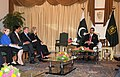 Secretary Clinton, Ambassador Patterson, USAID Administrator Shah, and Special Representative Holbrooke Meet With Pakistani Prime Minister Yousaf Raza Gilani (4809265270).jpg
