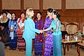 Secretary Clinton with Burmese Parliament Members (6464635559).jpg
