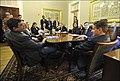 Secretary Geithner presides over his final senior staff meeting as Treasury Secretary (8415398874).jpg