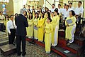 Secretary Kerry Thanks the Choir at the Notre Dame Cathedral in Vietnam (11373060753).jpg