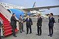Secretary Michael R. Pompeo arrives at the Jakarta Airport (42031931680).jpg
