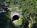 Seefeld in Tirol - Mittenwaldbahn - Brücke vor Reiserichgraben.jpg