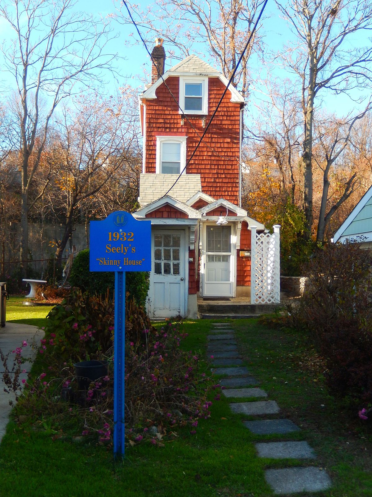 Skinny House Mamaroneck New York Wikipedia