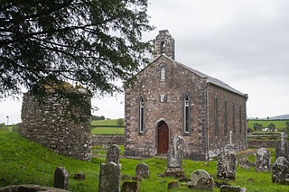 Saighir Church in Leinster, Ireland