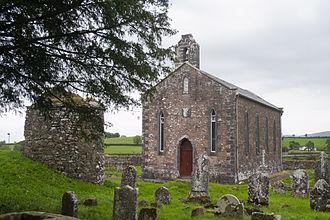 Saighir - Present parish church at Saighir