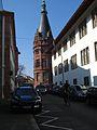 Seminarstraße, Südfront Neue Universität Heidelberg, Philosophische Fakultät, Geschichte 0726.jpg