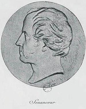 Étienne Pivert de Senancour - Image: Senancour