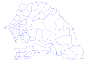 Arrondissements of Senegal - Arrondissements of Senegal