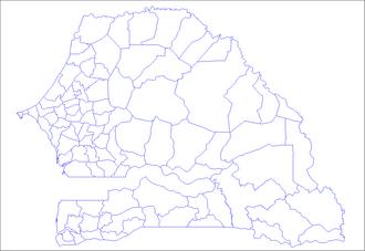 Arrondissements of Senegal - Arrondissements of Senegal