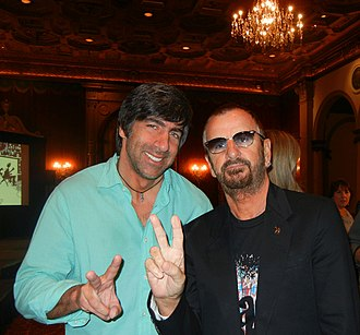 Seth Swirsky - Swirsky (l.) with Ringo Starr in February 2011