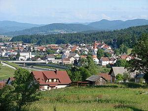 Šmarje–Sap - Image: Severna stran Šmarja Sap