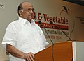 Sharad Pawar addressing at the inauguration of Fruit and Vegetable Summit in New Delhi.jpg